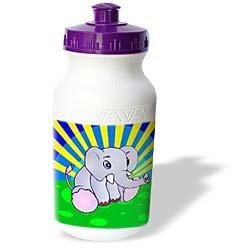 Kids Stuff - Cute Elephant - Water Bottles