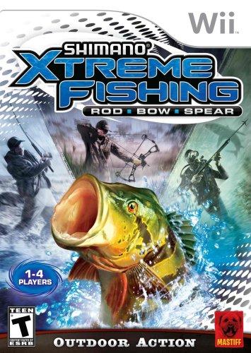 Shimano Xtreme Fishing Wii