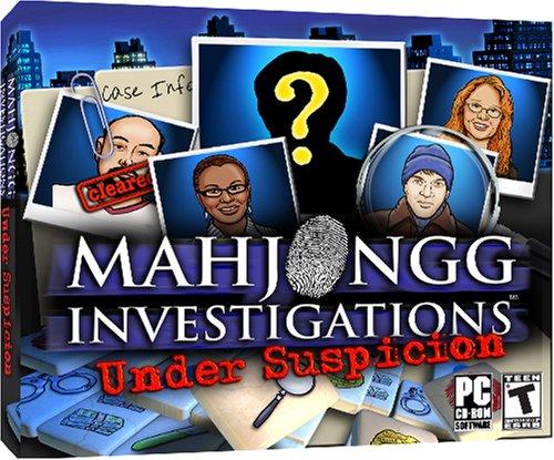 Mahjongg Investigations: Under Suspicion - jc