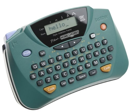 Brother PT-65 P-touch Home and Hobby Labeler with LCD
