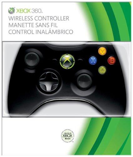Xbox 360 Wireless Controller - Glossy Black Xbox 360