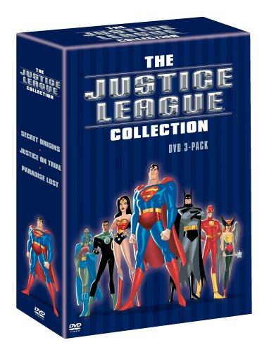 The Justice League Collection (DVD 3-Pack) (Secret