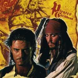 Pirates of the Caribbean Napkin