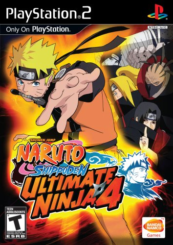 Ultimate Ninja 4: Naruto Shippuden PS2