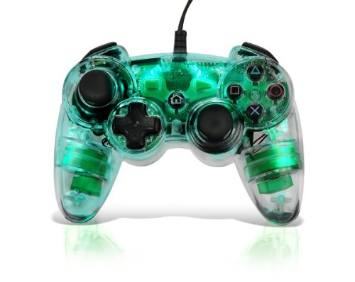 """Afterglow AP.1 Controller for PS3 - Green """"New for PS3"""