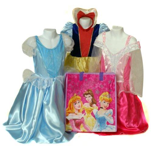 Storybook Princess 3 Dress Set + Free Disney Gift Bag