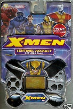 "Handheld Electronic Game X-Men ""Sentinel Assault"""