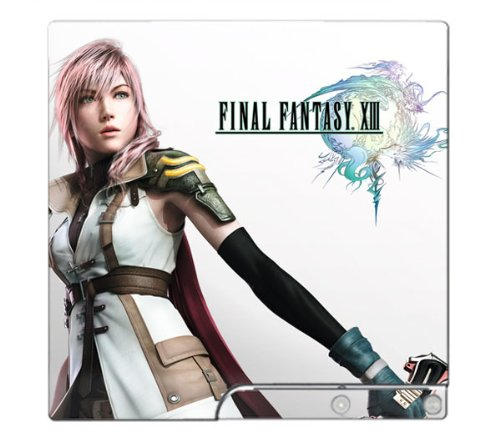 Final Fantasy XIII 13 Limited Edition Game Skin for PS3