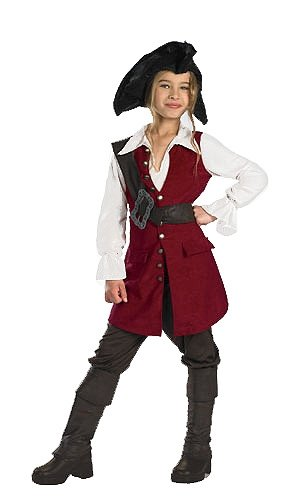Pirates of the Caribbean 3 Elizabeth Pirate Deluxe
