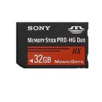Sony 32 GB PRO-HG Duo HX Memory Stick MSHX32A (Black)