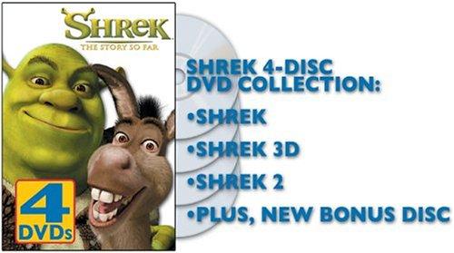 Shrek - The Story So Far (Shrek 1 & 2 Full Screen /