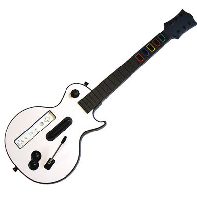 Les Paul Wireless Guitar for Wii Guitar Hero and Wii