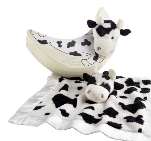 Baby Aspen The Cow Jumped Over the Moon Lovie Gift Set