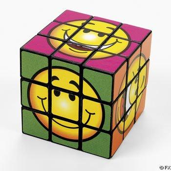 """Fun Magic Cube Puzzle - 2"""" (1 dz)"""