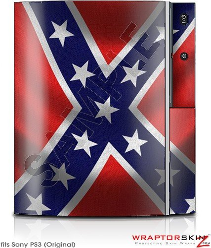 Sony PS3 Skin Confederate Rebel Flag PS3