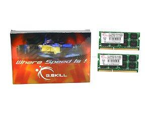 G.SKILL 8GB (2 x 4GB) 204-Pin DDR3 SO-DIMM DDR3 1333