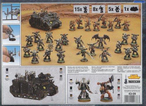 Chaos Space Marine Battleforce Warhammer 40k