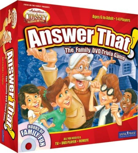 Answer That! Adventures in Odyssey TV Plug & Play