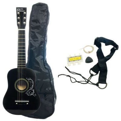 Kid's Acoustic Toy Guitar with Carrying Bag and
