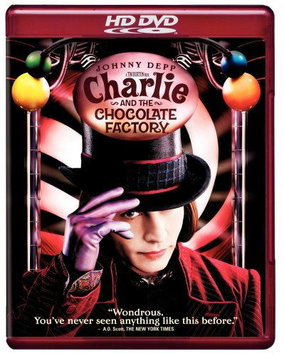 Charlie and the Chocolate Factory [HD DVD]