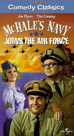 Mchale's Navy Joins Air Force [VHS]