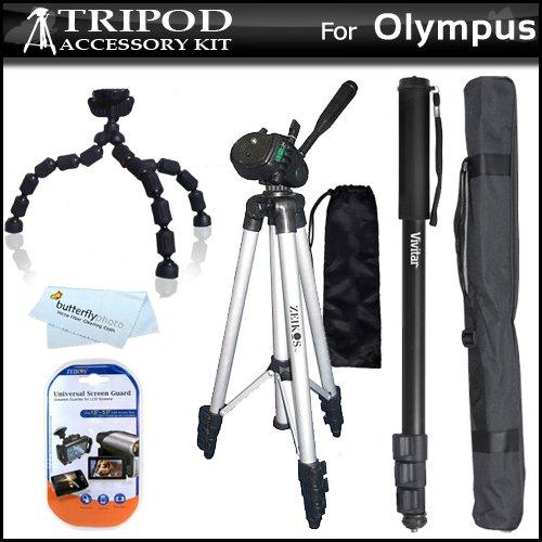 Tripod Kit For Olympus XZ-1 SZ-10 SZ-20 SZ-30MR