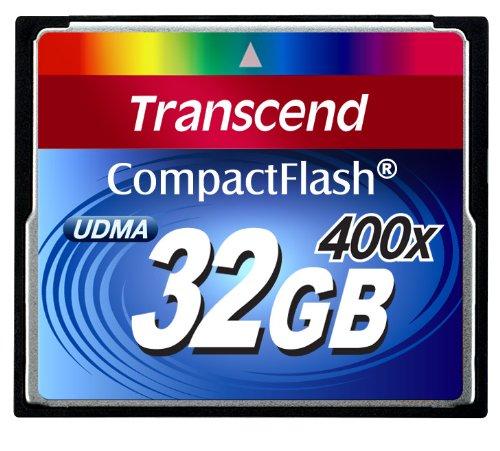 Transcend 32 GB Compact Flash Card 400X (Blue)
