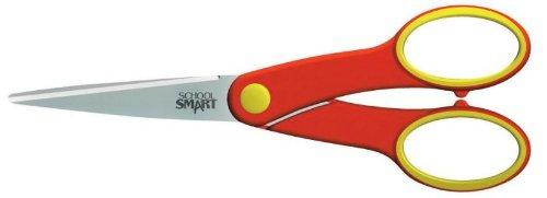 """School Smart Student Scissors - 6-1/4"""" Blunt, Teacher"""