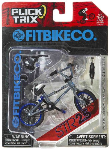 "STR25 by Fit Bike Co: Flick Trix ~4"" BMX Finger Bike"