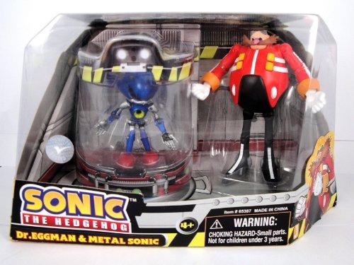 Sonic the Hedgehog Action Figure 2Pack Dr. Eggman