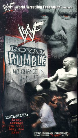 WWE Royal Rumble 1999 - No Chance In Hell [VHS]