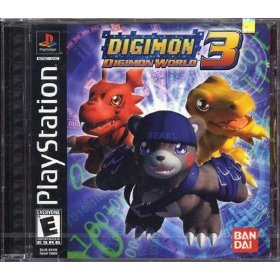 Digimon World 3 PlayStation