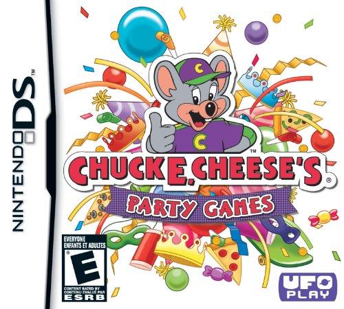 Chuck E Cheese's Party Games Nintendo DS