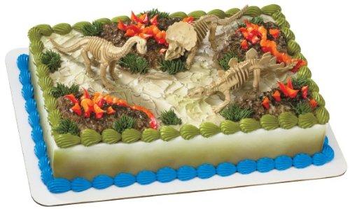 Dinosaur Skeleton Cake Topper