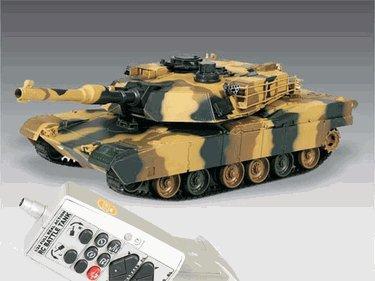 M1A2 ABRAMS Iraq War Tank RC US Battle Tank Radio