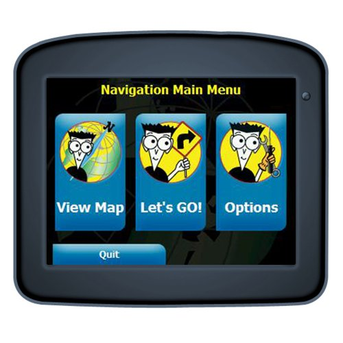 GPS Navigation For Dummies FD-220 3.5-Inch Portable