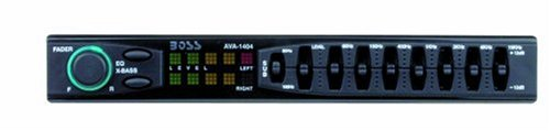 Boss AVA1404 7 Band Amplified Equalizer with Subwoofer