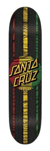 Santa Cruz Skateboards Rasta Haka Powerply Skateboard