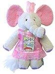 Kushies Kritters Ella Elephant Toy