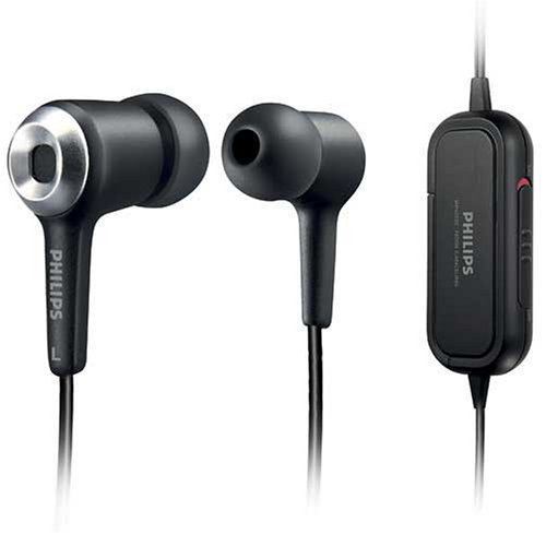 Philips SHN2500/37 Noise-Canceling Earbuds