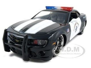 2010 Chevrolet Camaro SS Highway Patrol Police 1:24