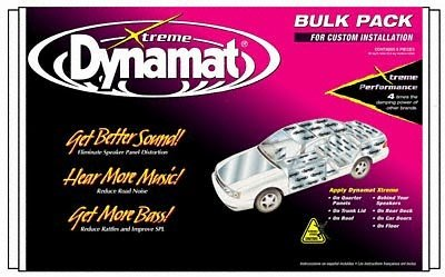 Dynamat 10455 Xtreme Bulk Pack 9 Sheets