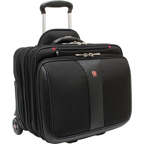 Wenger Patriot Rolling Case Blk Up To 17IN Windows