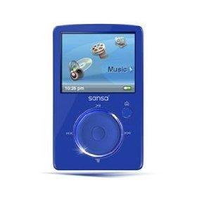 SanDisk Sansa Fuze 4 GB Video MP3 Player (Blue) Windows