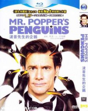 Mr. Popper's Penguins (2011) DVD MOVIE
