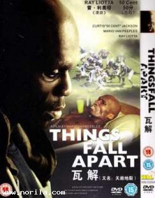 Things Fall Apart (2011) DVD MOVIE