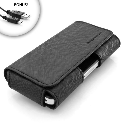 Black Leather Wing Case