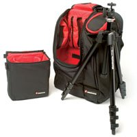 Manfrotto 732YB,482K M-Y Tripod and Backpack Bundle