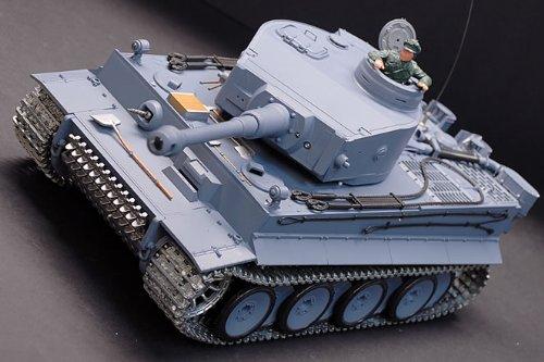 Radio Control Tank - RC German Tiger Air Soft Remote
