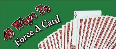 40 Ways to Force a Card DVD with Expert Card Magic